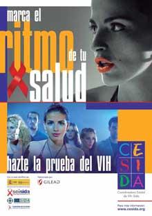 Campaña 2012 del Día de la Prueba del VIH: Marca el Ritmo de tu Salud