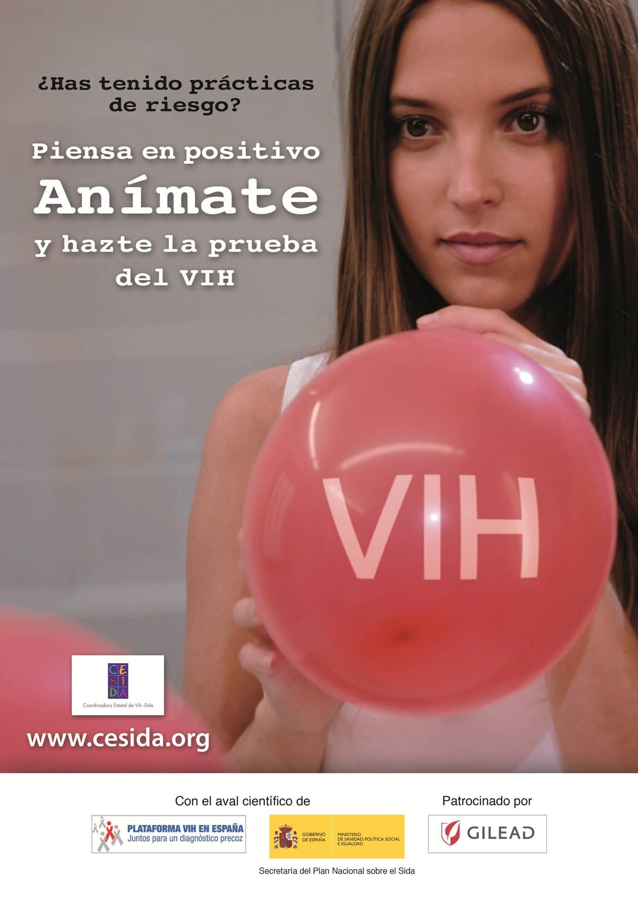 Año 2011: Campaña del Día de la Prueba del VIH: Piensa en Positivo