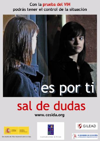 Año 2009: Campaña del Día de la Prueba del VIH: Sal de dudas