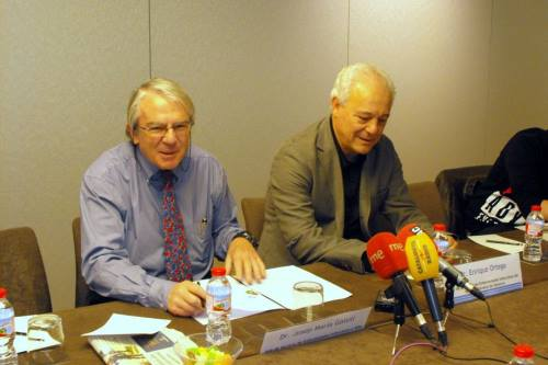 J.M. Gatell y E. Ortega