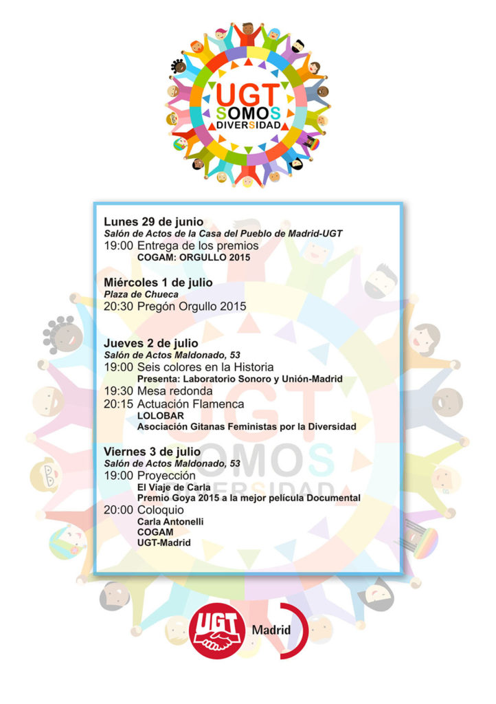 Programa Orgullo 2015